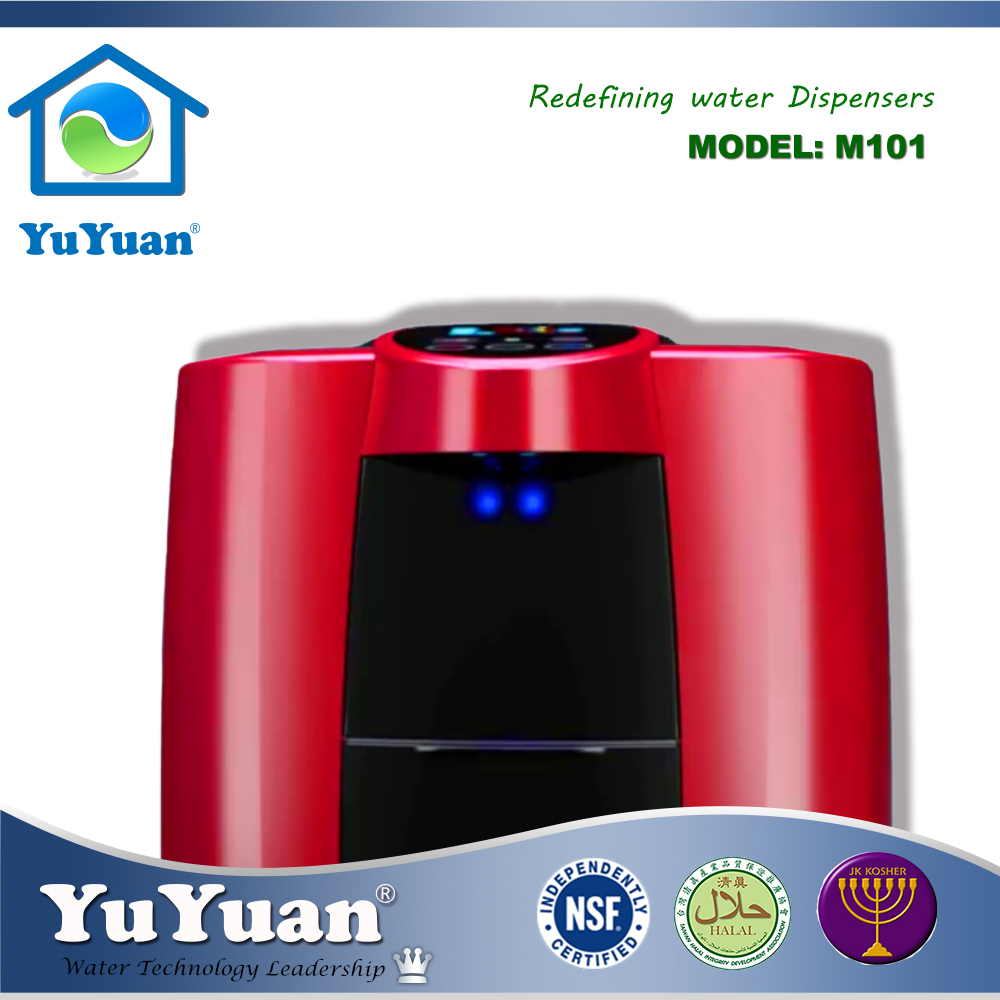 Taiwan Desktop Hot And Cold Purified Bar Water Dispenser Machine