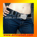 v belt Airplane buckle waist belts, fashion waist belt, waist belt men