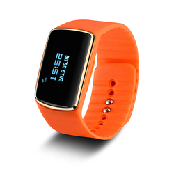 bluetooth fitness heart rate monitor/ rubber silicone smart bracelet/ health sleep