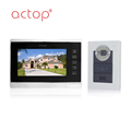 Touch button monitor door phone camera best video intercom