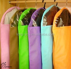 non woven clothes wedding dress storage bag for suit