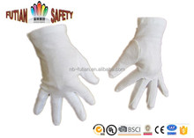 FTSAFETY 5008 cheap white 100% cotton etiquette inspector gloves of alibaba manufacturer
