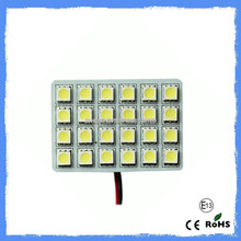 high brightness car dome light pcb 24SMD 5050 car Dome