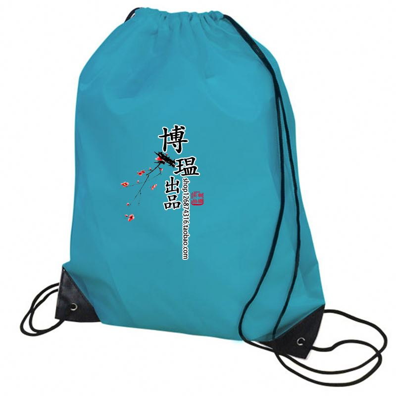 promotion eco friendly blank drawstring bag