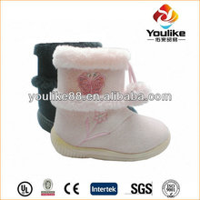 YL9452 Pink Flower Walmart Boots for Girls
