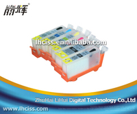6 colors PGI-225/CLI-226 refillable ink cartridge for Canon PIXMA MG 8120/MG 6120/ MG6220/MG 8220 with chip