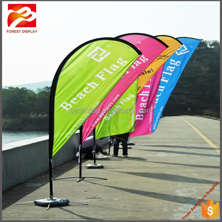 import export flag manufacturing outdoor commercial beach flag