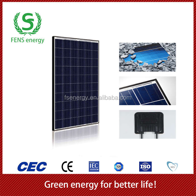 2016 High efficiency hot sale 300w photovoltaic solar panel price
