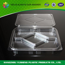 Guaranteed quality environmental plastic container food