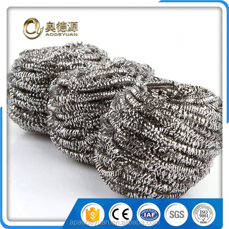 140 micron stainless steel wire mesh kitchen cleaning ball
