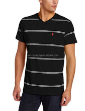 Custom OEM Cotton long line t shirt men