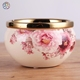 New arrival applique decorative planters planter painted flower pot