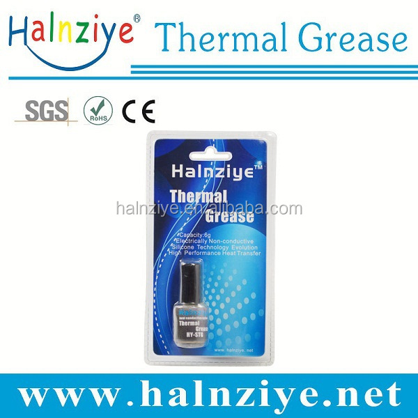 HY880 best high temperature/pressure nano thermal conductive tube industrial silicone paste with MSDS for cpu cooler