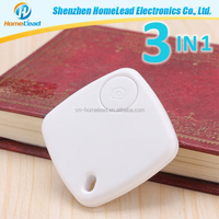 Wireless Anti Lost Alarm Bluetooth Key Finder Item Finder with 3-in-1 Function