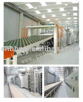 gypsum board production line(design plan)