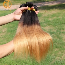 hot sale full cuticle ombre virgin human hair extension aliexpress peruvian straight hair