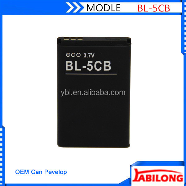 3.7v 800mAh phone battery for nokia 107 108 2730c N72 N91 8G 1100 1108 1110 1112 1116 1200 1208 1255 1681C 1600 1650