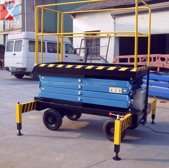 3meter Movable scissors lift home elevator