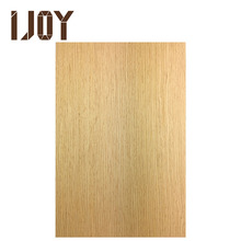 4*8 light color straight wood grain wood veneer panel with UV coating for ceiling