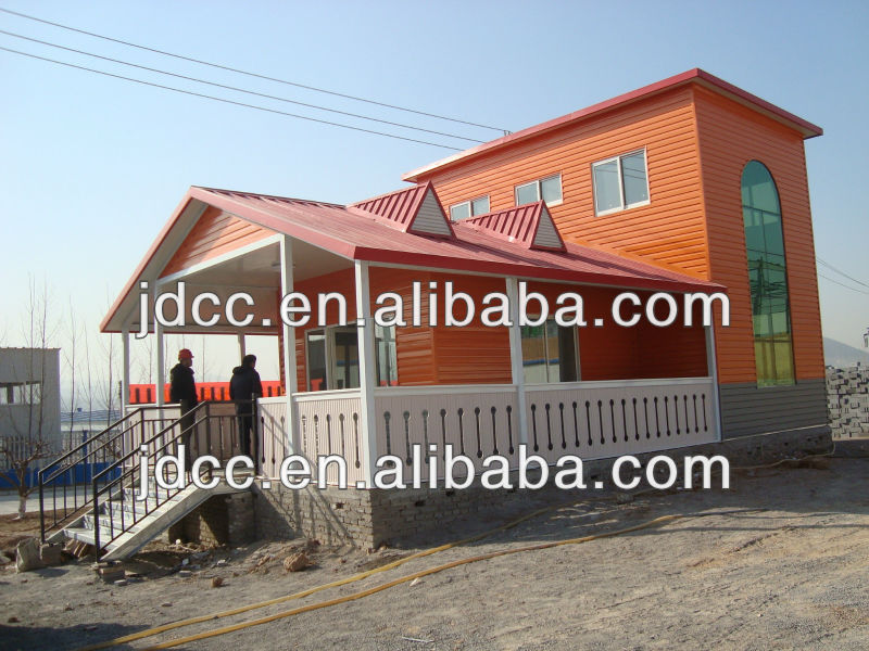low cost prefab timber house