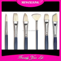 Professional 6 pcs artist oil painting brushes set /water colr brushes