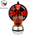 """ Spin the wheel "" drinking alcohol carnival style roulette Wheel of Shots game set"