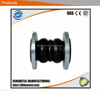 Double-ball carbon steel connect Flexible Rubber Joint