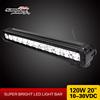 "20"" 10W ecah CREE LED light bar 120W offroad led light bar cree"