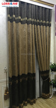 European Office Jacquard Window Curtains Design