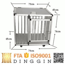 Portable Aluminium Pet Transport Car Cage