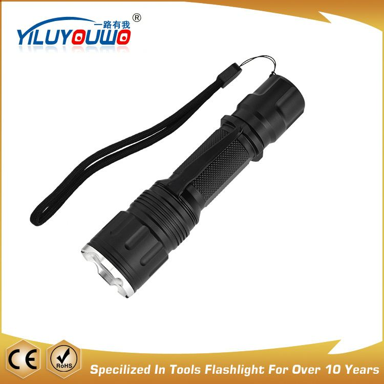 Fully stocked factory directly aluminum zoom police 5w flashlight