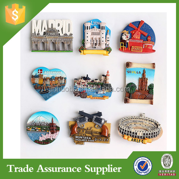 Travel tourist Greece fridge magnet souvenir