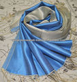100% Silk Scarf reverse Colours