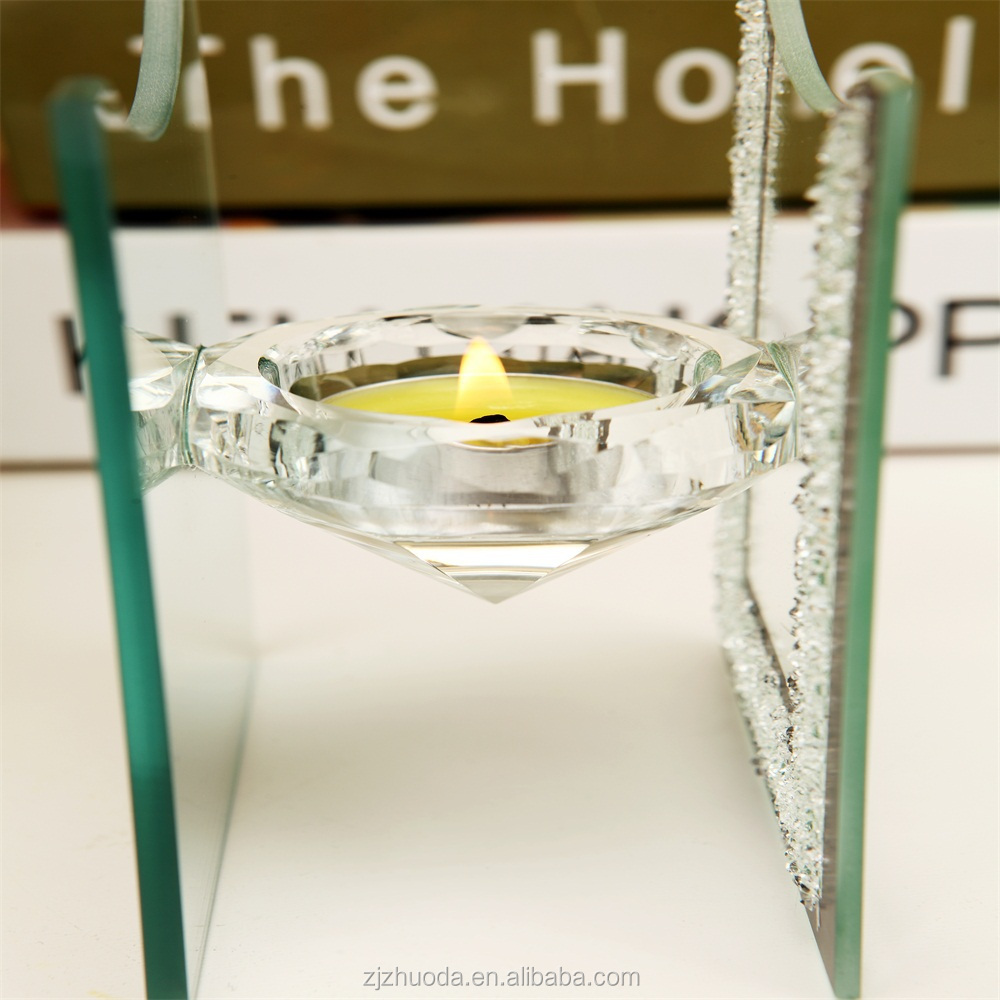 Custom Wedding Decorate Made In China Glass Candle Holder