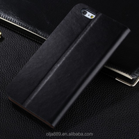 Genuine leather case wallet mobile phone case flip cover stand for iphone 6