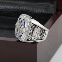 SJ SJMC040 MLB 2009 NEW YORK YANKEES WORLD SERIES Championship Replica Ring with Wooden Box