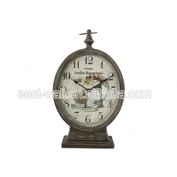 Hot Jual Harga Murah Kuno Vintage Besi Digital Desktop Clock Free Download