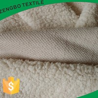High quality China Manufacturer produced super soft polyester Sherpa fleece fabric for blanket