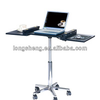 Movable Laptop Table Computer Desk With