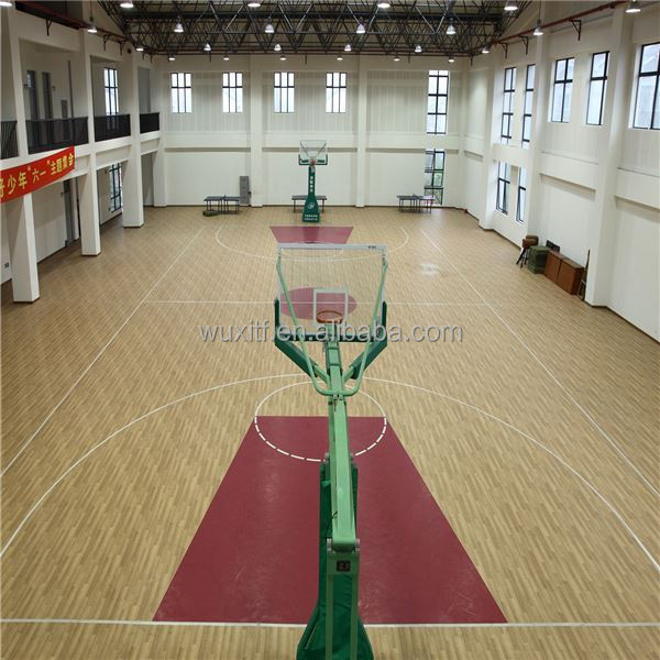 Popular Eco friendly removable basketball court from china