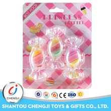 China shantou factory cartoon make up plastic candy toy