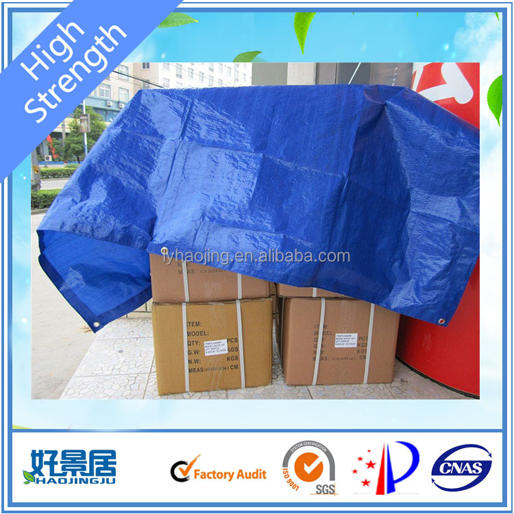 plastic pe tarpaulin sheet for roofing covering or outdoor