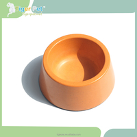 New design plastic factory price high quality dog bowl with handle