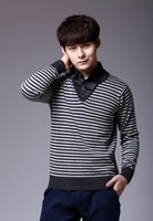 Factory High Quality Men's Clothing Latest Sweater Designs for Men Custom Camel Sweater