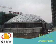 steel dome structure building
