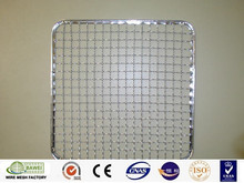 Fish shape barbecue mesh stainless steel crimped wire mesh supplier