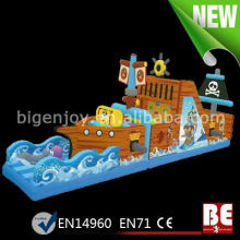 2013 New Design Pirate Boat Obstacle