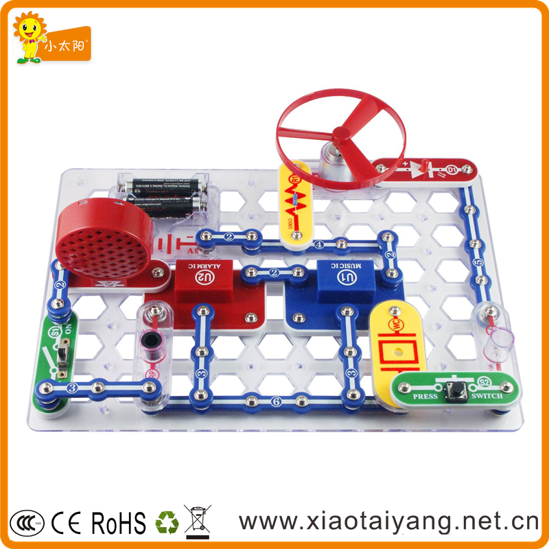 Snap Circuits Electronic Building Blocks children educational toys