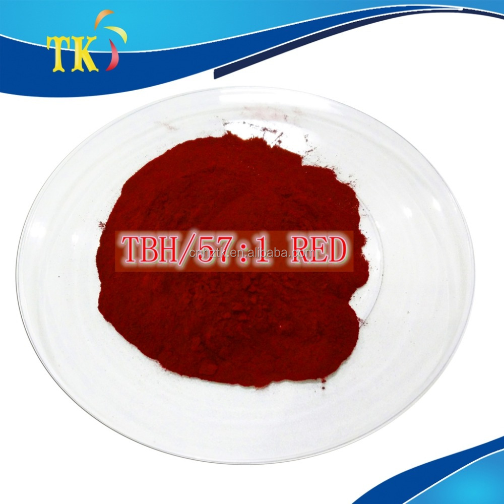 Pigment Red 57:1)TBH/Lithol Rubine TBH/used for Thermosetting printing ink pigment