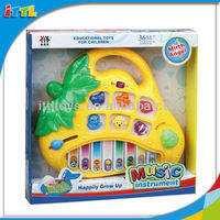 Toy Instrument Electronic Piano Toys With Music Plastic Cartoon Musical Piano